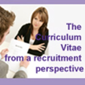The Curriculum Vitae from a recruitment perspective