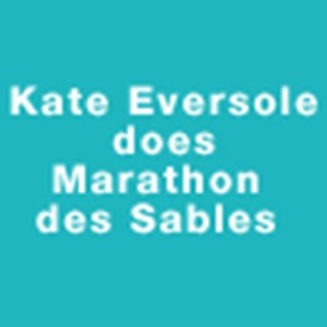 Kate Eversole does Marathon des Sables