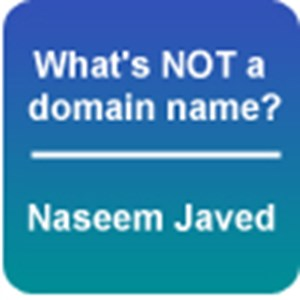 What's NOT a domain name?