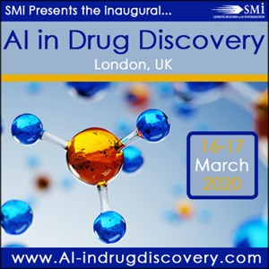 Registration opens for SMi's AI in Drug Discovery Conference 2020