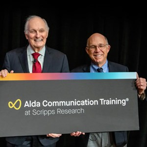 Iconic actor Alan Alda, Scripps Research join forces to bring science communication training to West Coast