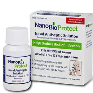 Reducing Risk: NanoBio® Protect Nasal Antiseptic Now Available on Amazon