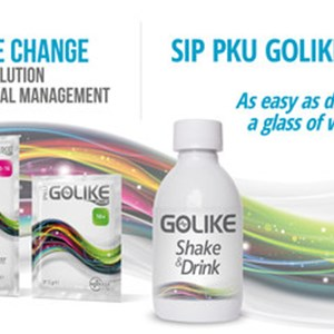 GOLIKE Shake & Drink Makes the Intake of the Amino Acid Mix as Easy as Drinking a Glass of Water