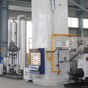 Oxygen plant for medical applications